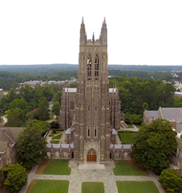 Duke Chapel on West Campus